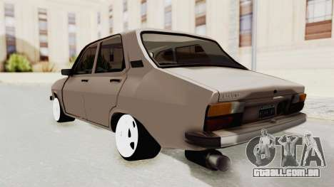 Renault 12 para GTA San Andreas esquerda vista