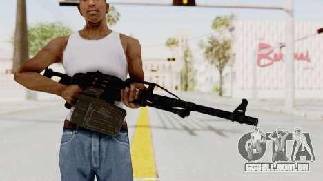 PKM 7.62mm Battlezone Mod para GTA San Andreas terceira tela