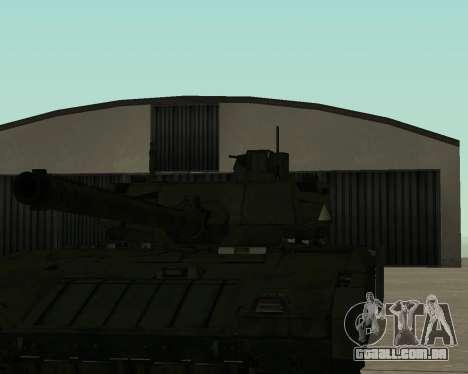 T-14 Armata para o motor de GTA San Andreas