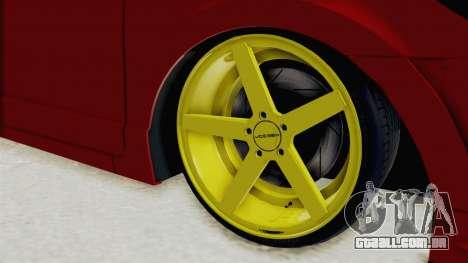 Honda Civic FD6 para GTA San Andreas vista traseira