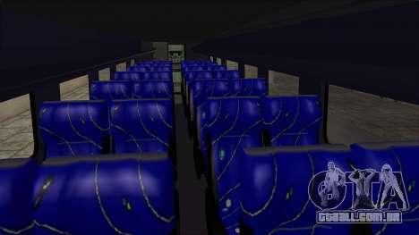 Marcopolo UUM Bus para GTA San Andreas vista interior