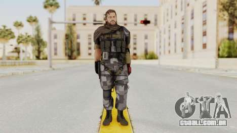 MGSV The Phantom Pain Venom Snake Sc No Patch v7 para GTA San Andreas segunda tela