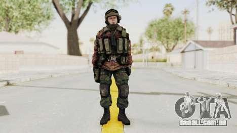 Battery Online Russian Soldier 9 v1 para GTA San Andreas segunda tela