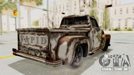 GTA 5 Slamvan Lowrider PJ2 para GTA San Andreas vista interior