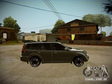 Great Wall Hover H2 2008 para GTA San Andreas vista traseira