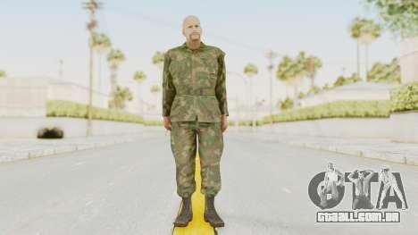 MGSV Ground Zeroes US Soldier No Gear v2 para GTA San Andreas segunda tela