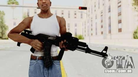 AK-47 Tactical para GTA San Andreas