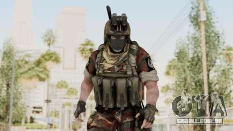 Battery Online Russian Soldier 3 v1 para GTA San Andreas