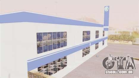 Volkswagen Showroom in San Fierro para GTA San Andreas segunda tela