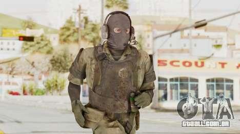 MGSV Phantom Pain Wandering MSF Mosquite para GTA San Andreas