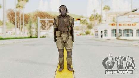 MGSV Phantom Pain Wandering MSF Mosquite para GTA San Andreas segunda tela