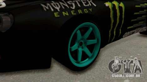 Toyota Celica GT Drift Monster Energy Falken para GTA San Andreas vista traseira