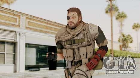 MGSV The Phantom Pain Venom Snake Scarf v3 para GTA San Andreas