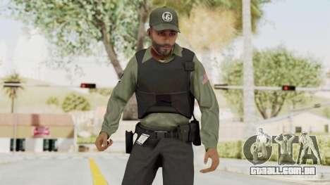 GTA 5 Security Man para GTA San Andreas