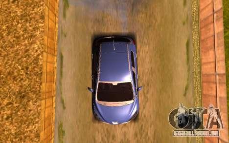 Iranian Peugeot 308 para GTA San Andreas vista traseira