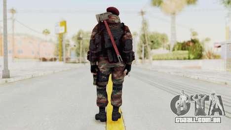 Battery Online Russian Soldier 1 v1 para GTA San Andreas terceira tela