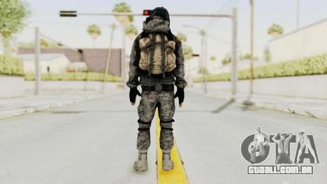 Battlefiled 3 Russian Medic para GTA San Andreas terceira tela