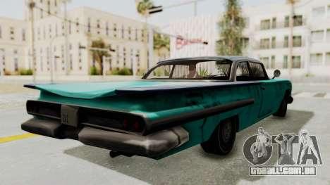 Beater 1962 Voodoo para GTA San Andreas vista direita