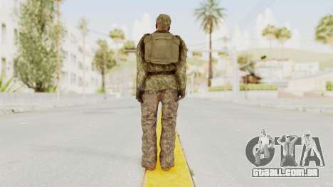 MGSV The Phantom Pain Soviet Union LMG v1 para GTA San Andreas terceira tela