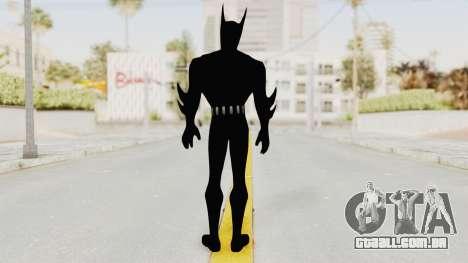 Batman Arkham Origins - Batman Beyond para GTA San Andreas terceira tela