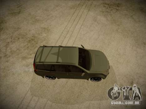 Great Wall Hover H2 2008 para GTA San Andreas vista direita