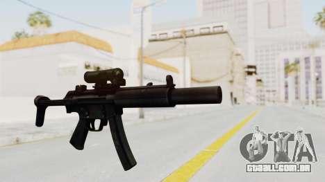MP5SD para GTA San Andreas segunda tela