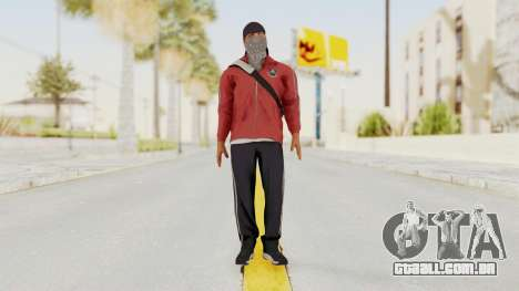 Battlefiled Hardline Professional Gang para GTA San Andreas segunda tela