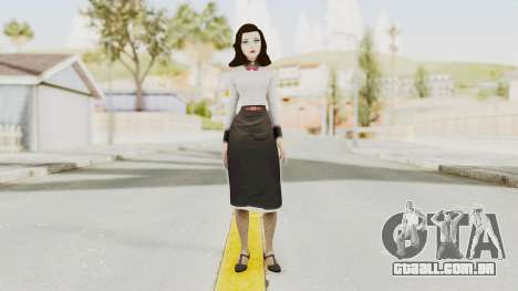 Bioshock Infinite Burial at Sea Elizabeth para GTA San Andreas segunda tela