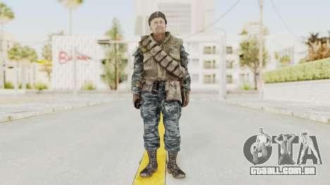 COD BO Russian Spetznas Flak MP v3 para GTA San Andreas segunda tela