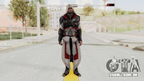 AC Brotherhood - Ezio Auditore Seusenhofer Armor para GTA San Andreas segunda tela
