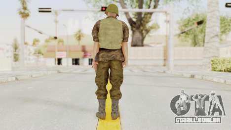 MGSV The Phantom Pain Soviet Union VH No Sleeve1 para GTA San Andreas terceira tela