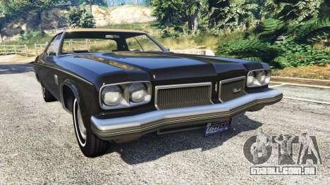 Oldsmobile Delta 88 1973 v2.5 para GTA 5