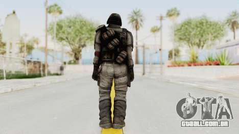Helghan Assault Trooper para GTA San Andreas terceira tela