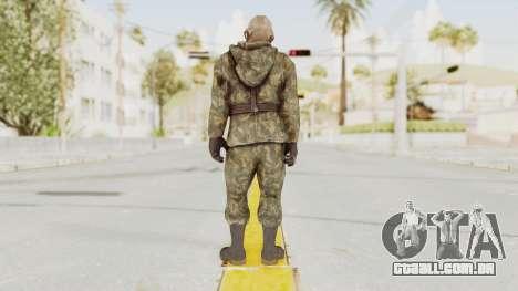 COD Black Ops Russian Spetznaz v3 para GTA San Andreas terceira tela
