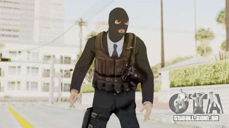 Bourne Conspirancy Euro Mercenary para GTA San Andreas