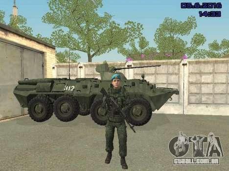 Modern Russian Soldiers pack para GTA San Andreas décima primeira imagem de tela
