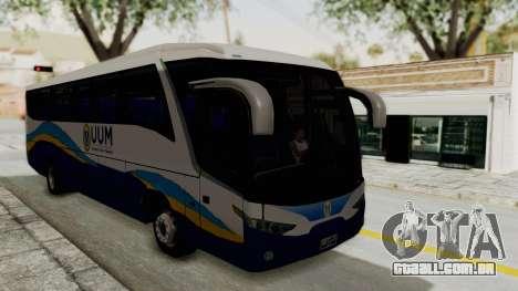 Marcopolo UUM Bus para GTA San Andreas vista direita