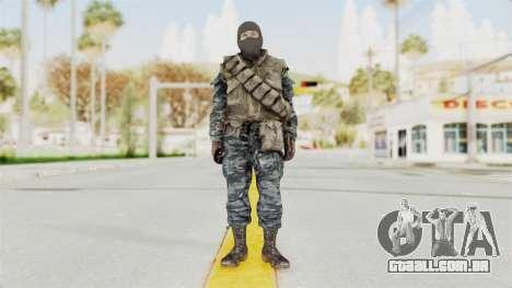 COD BO Russian Spetznas Flak MP v1 para GTA San Andreas segunda tela