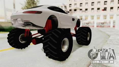 Mercedes-Benz AMG GT 2016 Monster Truck para GTA San Andreas vista direita