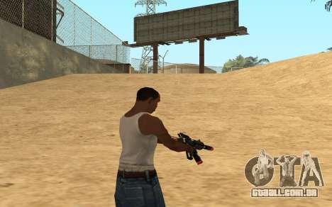 M4 Cyrex para GTA San Andreas sexta tela