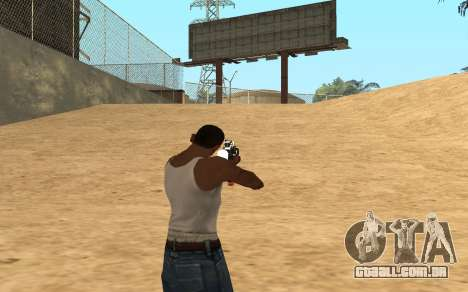 M4 Cyrex para GTA San Andreas quinto tela