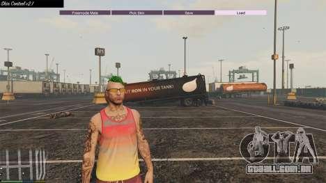 GTA 5 Skin Control 2.1 terceiro screenshot