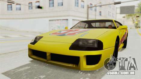 GTA 5 BuRGer Shot JeZter para GTA San Andreas vista direita