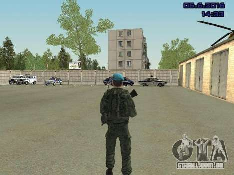 Modern Russian Soldiers pack para GTA San Andreas twelth tela