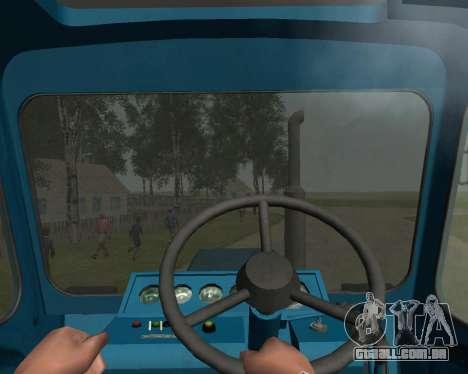 MTZ 80 Bielorrússia para GTA San Andreas vista traseira