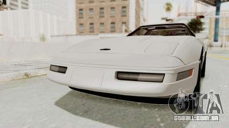 Chevrolet Corvette C4 1996 para GTA San Andreas vista direita
