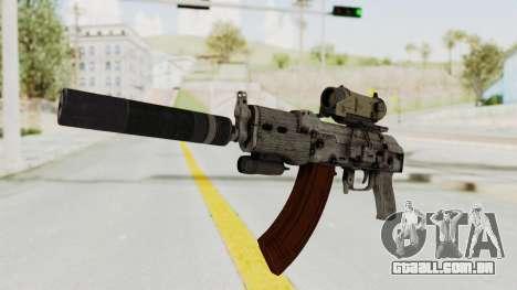 Combat SMG para GTA San Andreas segunda tela