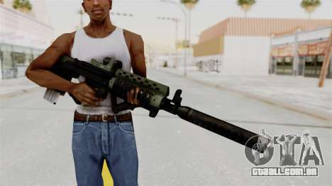 Killzone - M82 Assault Rifle Supressed para GTA San Andreas terceira tela