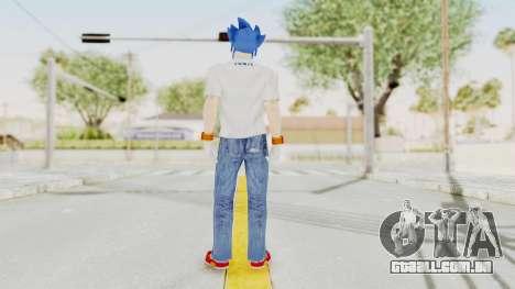 Sonic Man para GTA San Andreas terceira tela