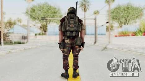 Battery Online Russian Soldier 3 v1 para GTA San Andreas terceira tela